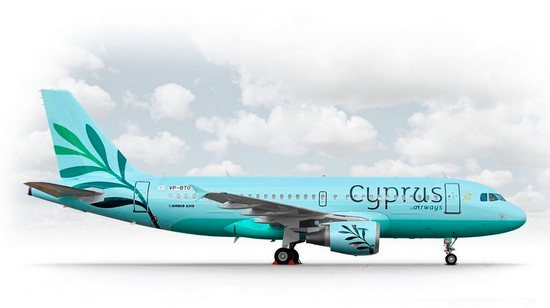 самолет Cyprus Airways