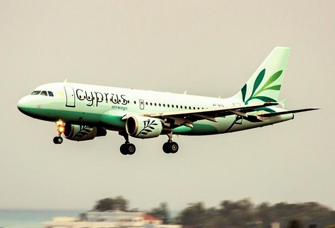 Новый самолет Airbus A319 Cyprus Airways